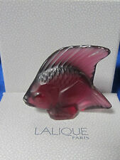 NEW LALIQUE #3003100 FISH GOLDEN RED BRAND NIB WATER FRENCH SAVE$$ FREE SHIPPING