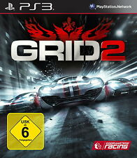 Sony PS3 Racedriver GRID 2 Reloaded Platinum Edition günstig gebraucht OVP TOP