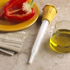 Chicken Türkei Fleischklar Flüssig Sauce Baster Tube Spritze Pump Pumper Werkzeu