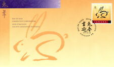 CANADA #1767 46¢ YEAR OF THE RABBIT FIRST DAY COVER