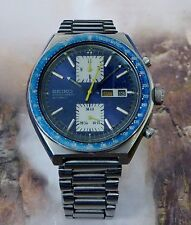 Vintage Men's Seiko Automatic Chronograph 6138-0030 Running