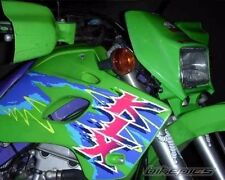 KAWASAKI KLX 650 DECALS, motorcycle green !!!excellent quality!!FREE SHIPPING