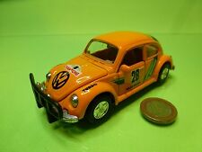 WELLY 9049 VINTAGE VW VOLKSWAGEN BEETLE KAFER 1303 - RACING 1994  L12.0cm - GOOD