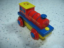 Motorised Battery Train Engine for Wooden Track ( Brio Thomas ) ~ NEW BOXED