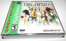 Final Fantasy IX [PlayStation 1 PS1 PSX, FF 9, Classic JRPG] Brand NEW
