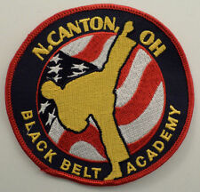 Martial Arts Embroidered Uniform Patch Yang N. Canton Ohio Black Belt Academy