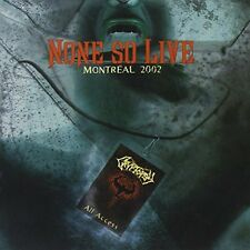 None So Live-Montreal 2002 - Cryptopsy (2013, CD NIEUW)