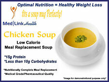 MEDLINKHEALTH CHICKEN SOUP MIX Meal Replacement Weight Loss | 6 BOXES