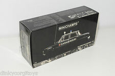 MINICHAMPS ALFA ROMEO GIULIA CARABINIERI ORIGINAL EMPTY BOX EXCELLENT CONDITION