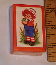 vintage Hallmark Raggedy Andy Miniature Playing Cards Mini Sealed