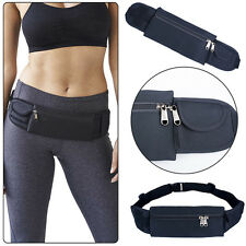 Sports Running Waist Pouch Bag Fanny Pack Running Jogging Belt Zipper Universal