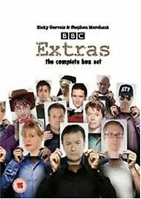 Extras BBC TV Complete Comedy Series 5 Discs DVD Box Set Brand New Sealed
