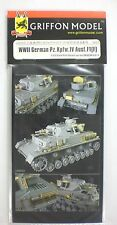 Griffon Model 1/35th Scale German Pz Kpfw IV Ausf F1 Item No. L35023