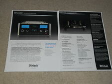 McIntosh MA6600 Brochure, 2 pages, 2006, Specs, Articles, Info MA 6600