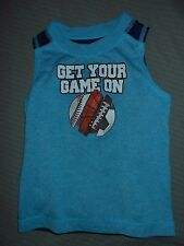Healthtex Boys 24 M Tank Top (Get Your Game On)