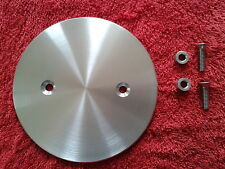 CNC ALUMINIUM PLAIN BRUSHED FINISH SMALL 29T PULLEY COVER BUELL X1 LIGHTNING