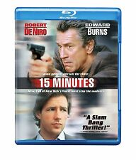 15 MINUTES (Robert De Niro, Edward Burns)  -Blu Ray - Sealed Region free