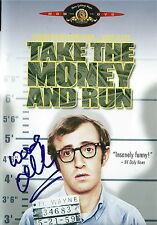 Woody Allen signed Take The Money And Run DVD - Brand New - Proof