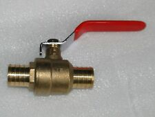 "(10) 3/4"" PEX BALL VALVE BRASS **LEAD FREE** Crimp Fitting PLUMBING WATER WELL"