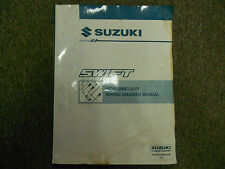 1999 2000 2001 SUZUKI Swift Wiring Diagram Shop Manual FACTORY OEM WATER DAMAGE