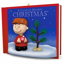 Hallmark 2016 A Charlie Brown Christmas Peanuts Gang Magic Ornament