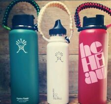 Hydro Flask handles Lot of 3 Made With 550 Paracord And Buckle