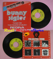 LP 45 7'' BUNNY SINGLER Five fingers of death Regina 1973 france EPIC cd mc dvd