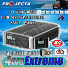 PROJECTA POWER INVERTER IP2000-24 PURE SINE WAVE 2000W 24 240 VOLT DC TO AC NEW