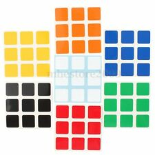 NEW 3x3x3 Cube Replacement Sticker for Dayan Speed PVC Magic Cube Sticker
