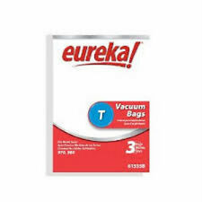 Eureka T Vacuum bags (3pk) Genuine Part #61555B