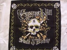 New Black Cypress Hill Skull & Bones Bandana / Neck Head Scarf