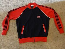 Adidas 1984 USA OLYMPIC Navy Red Track Jacket Mens XL VINTAGE RARE IN THIS SIZE