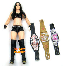 Paige WWE NXT Women Divas Champion Belts Wrestling Action Figure Kid Child Toy