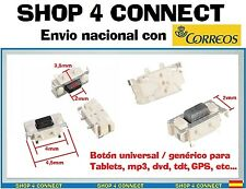 BOTON de para TABLET BUTTON SWITCH 2x4x3.5 mm volumen encendido interruptor bq *
