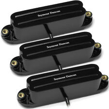 Seymour Duncan SHR-1 Strat Hot Rails set  black N/M/B NEW 2x SHR-1n 1x SHR-1b