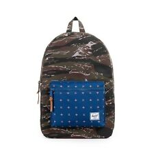 Herschel Supply Co Settlement 600D Poly Backpack in Tiger Camo/Hyde NWT