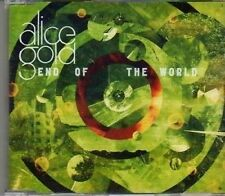 (CF180) Alice Gold, End Of The World - 2011 DJ CD