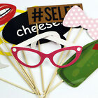DIY 10Pcs Hen Party Photo Booth Props Kit Night Games Accessories Favors