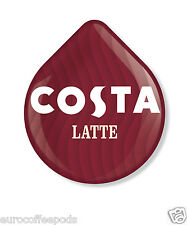 24 x Tassimo Costa Latte 12 Coffee 12 Milk 24 T- Discs 12 Servings
