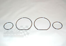 VW Golf mk2 Jetta mk2 speedo gauge chrome dashboard bezel ring 1983-92