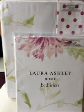 Laura Ashley Ninette KING Size Duvet Cover + 2 Housewife Pillowcases - NEW