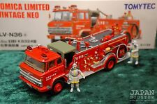 [TOMICA LIMITED VINTAGE NEO LV-N36a 1/64] HINO KB324 Chemical Fire Engine