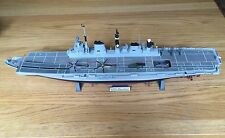 1/350 HMS Illustrious British Aircraft Carrier - Built To Great Standard