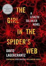 The Girl in the Spider's Web: A Lisbeth Salander novel, continuing Stieg Larsso