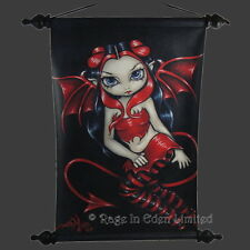 DEVILISH Strangeling Fairy Fantasy Art Hanging Scroll By Jasmine Becket-Griffith