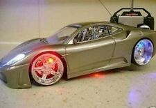 FERRARI SPIDER REMOTE CONTROL CAR FLASHING LIGHTS In 3 Colours UK SELLER