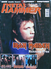 METAL HAMMER 4 2002 Iron Maiden Slipknot Blind Guardian Rhapsody Millencolin