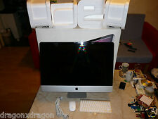 "Apple iMac 27"" in scatola originale, Intel i5 2,8ghz, 8gb di RAM, 1tb, HDD difettoso, Display Scuro"