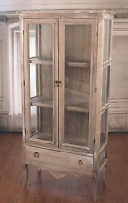 Ex-Display Display Unit Library French Provincial Antique Grey Storage Drawer