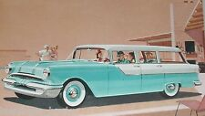 1955 PONTIAC WAGON advertisement, Pontiac 870 Station Wagon